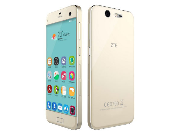 ZTE launches Blade S7 with 13MP selfie camera and fingerprint scanner
