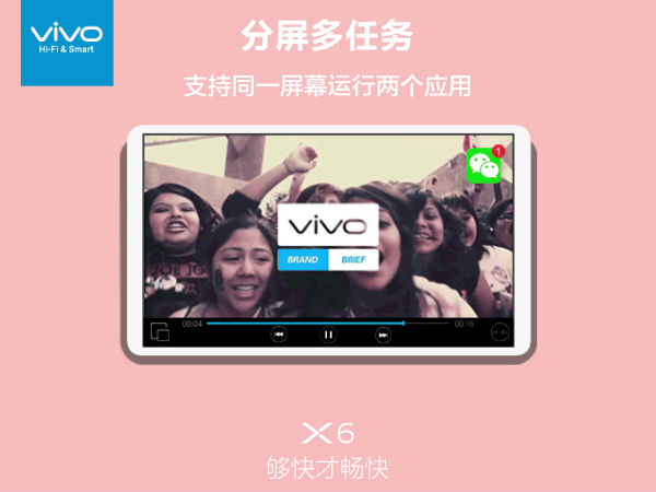 Vivo X6 to come with Split Screen feature for improved Multitasking