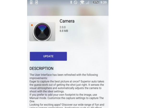 Sony's Latest Camera Update on the Xperia Z5 series offers a new UI