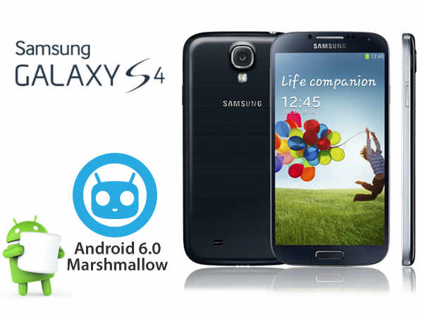 Android Marshmallow Running Galaxy S4