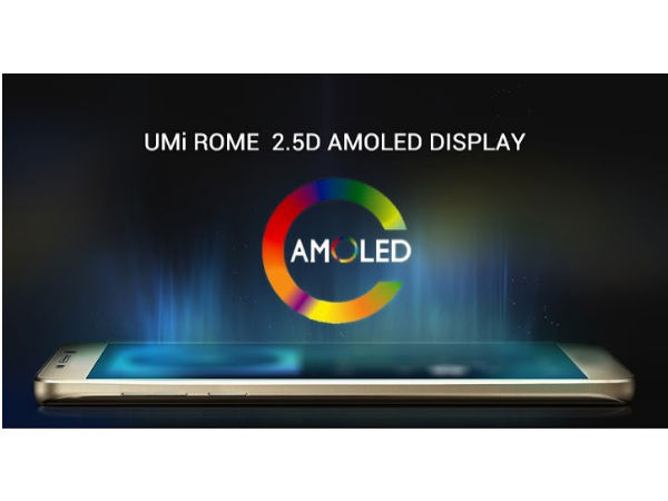 UMi ROME with 2.5D AMOLED display will release in December