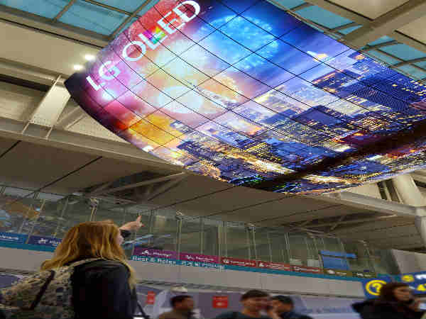 LG electronics debuts the Worlds largest OLED display at South Korea