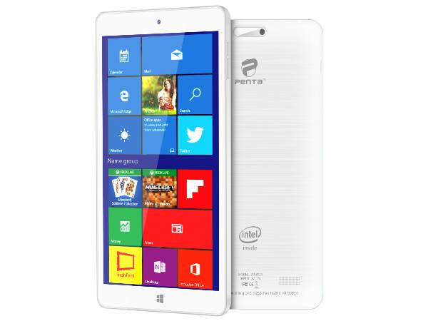 Penta WS802X is a Windows 10 Tablet sold on HomeShop18 at Rs. 5499