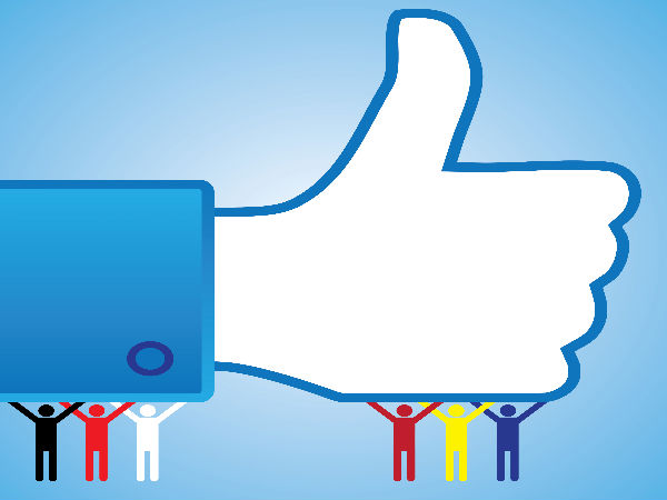 Use Facebook just for posting 'likes' to ward off depression
