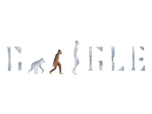 Google celebrates early human ancestor with Doodle of Lucy