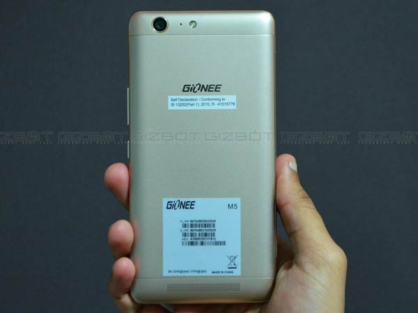 Gionee Launches Marathon M5 with Enormous 6020mAh Battery at Rs 17,999