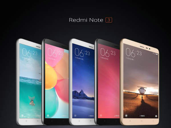 Xiaomi launches Redmi Note 3 with Metal Body and Fingerprint Scanner