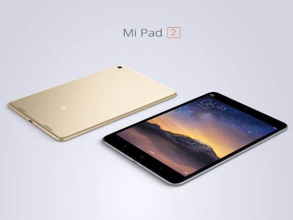 Xiaomi Mi Pad 2 available in Android and Windows 10 variants