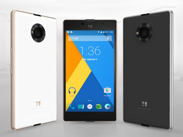 Enhanced version of the YU Yuphoria with Octa Core SoC spotted