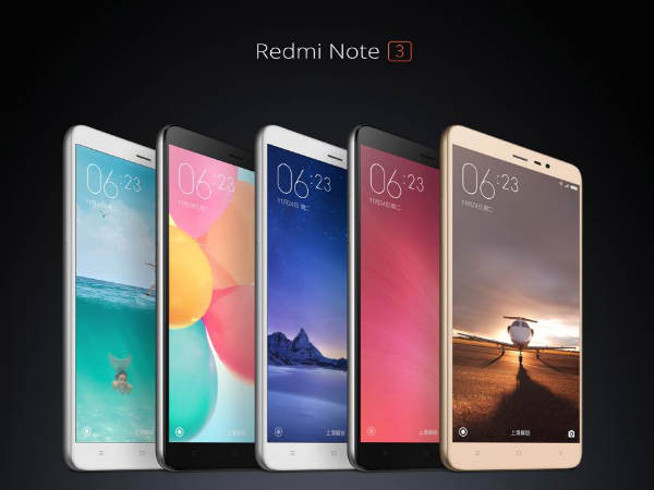 Samsung comes with Snapdragon SoC and Redmi Note 3 with MediaTek SoC