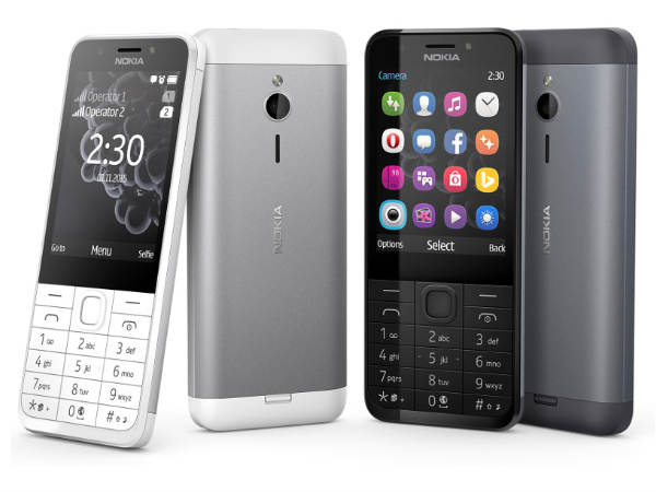 Nokia 230 and 230 Dual SIM with Metal Body, 2MP Front camera launched