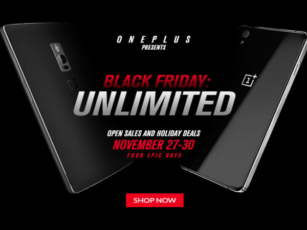 OnePlus to host Open Sale as part of Black Friday starting November 27