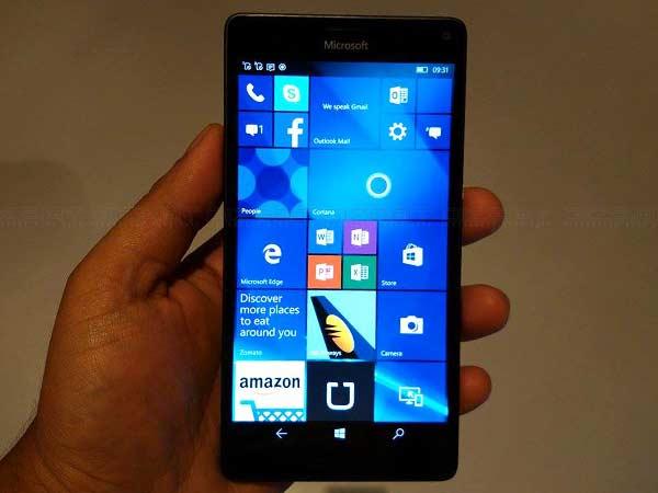 Microsoft Launches Lumia 950 and Lumia 950 XL Smartphones in India
