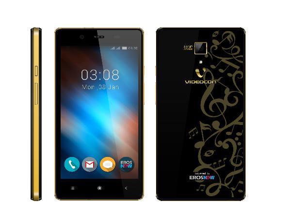 Videocon Mobiles launches three new Smartphones