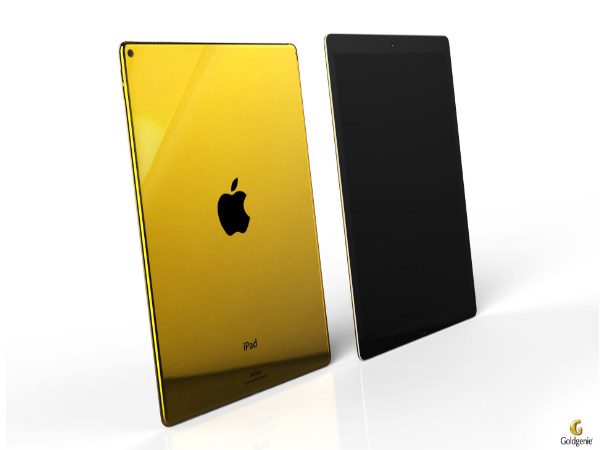 Apple iPad Pro with Gold Plated finish up for pre-order from Goldgenie