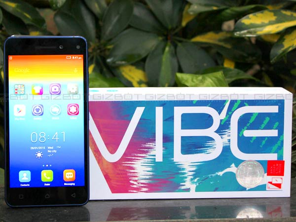 Lenovo Vibe S1 First Impression
