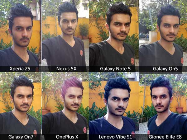 The Biggest Selfie Shootout of 10 Latest Smartphones! [SAMPLE SHOTS]