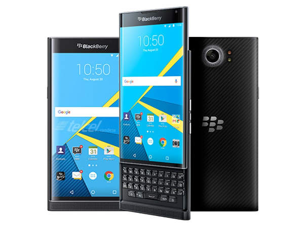 BlackBerry Priv receives its first OTA update