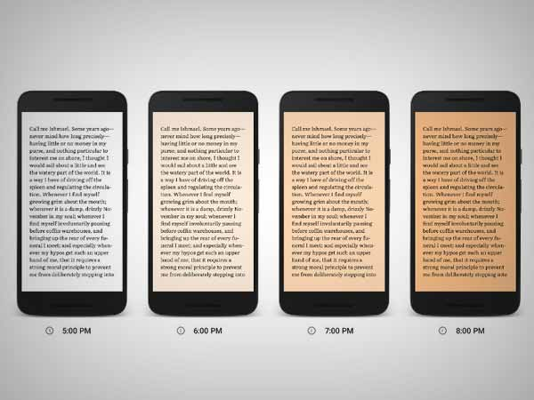 Google Play Books gets Night Light feature for easier reading at Night