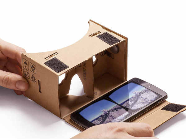 Virtual reality in an affordable way