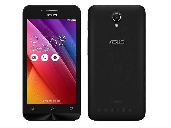 Asus Zenfone Go 4.5 available on Flipkart for Rs. 5,299