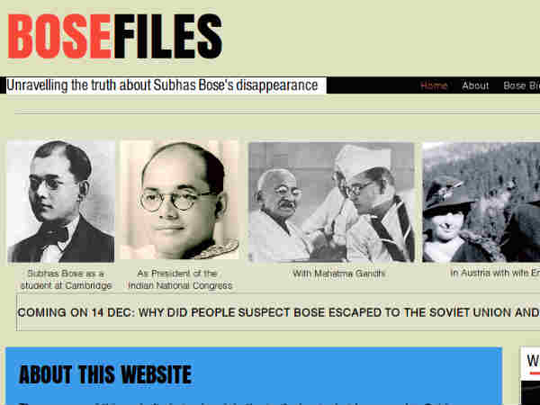Website on Netaji's last days launched in UK