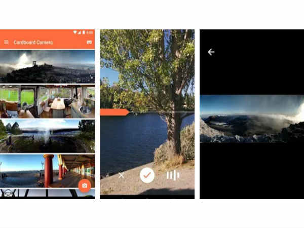 Google Releases Cardboard Camera app to view VR photos