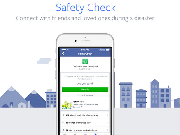 Facebook activates 'Safety' button for Chennai floods