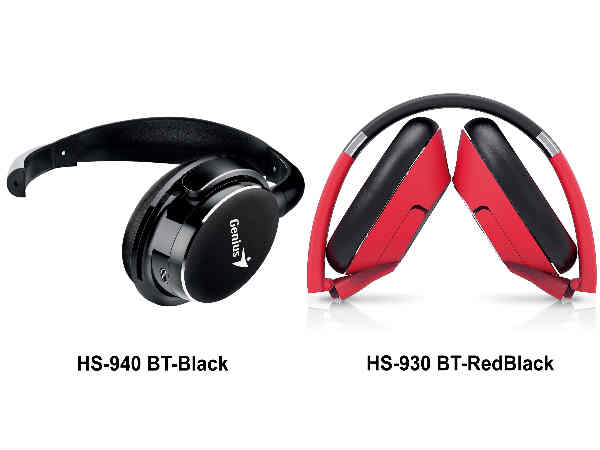 Genius introduces latest range of Bluetooth headsets
