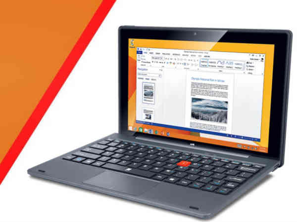 iBall launches Slide WQ149R 2-in-1 With Windows 10, Internal HDD Slot