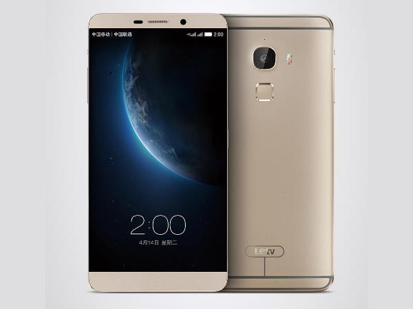 Letv launches world's first mirror-surfaced fingerprint scanner phone
