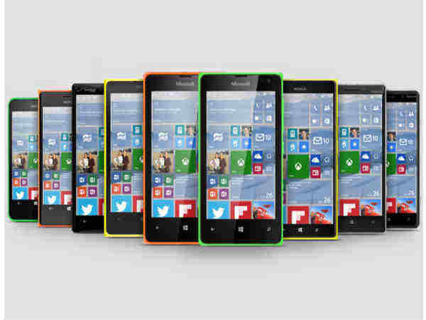 Windows 10 OS update for older Lumia Smartphones delayed to early 2016