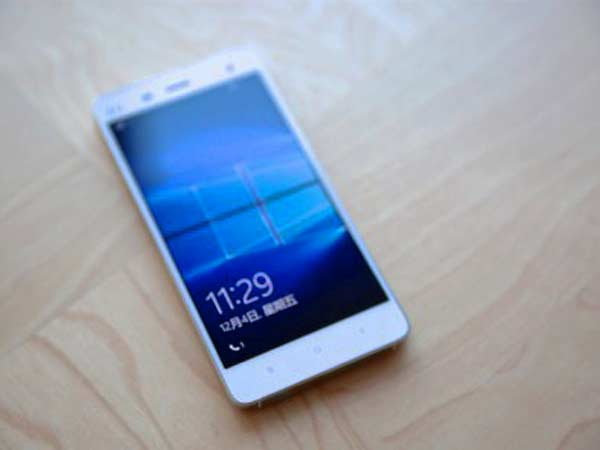 Windows 10 ROM for Xiaomi Mi4 LTE now available for download