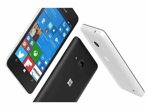 Microsoft Lumia 550 with Windows 10 launched in India for Rs. 9,399