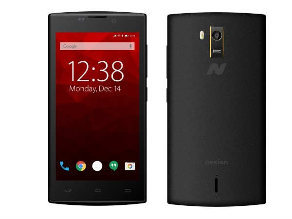 "Nexian NV-45 with 4.5"" Display, 1GB RAM, KitKat on sale at Flipkart"