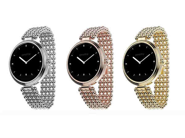 The Omate Lutetia is a Smartwatch for women