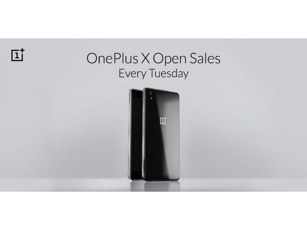 OnePlus X will be invite free every Tuesday from Now on