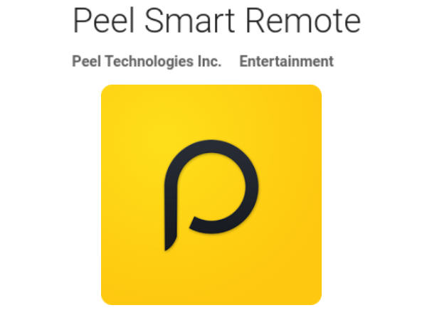 Now watch live TV with redesigned Peel remote app