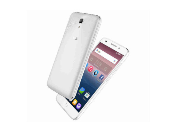 """TCL Pride T500L with 5"""" display, Retina scanner launched on Snapdeal"""