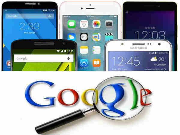 Top 10 Most Googled Smartphones in India 2015