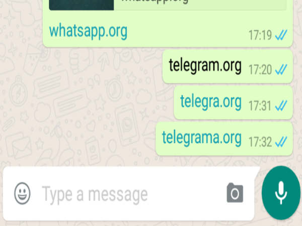 WhatsApp reportedly Blocking Links to Rival messaging app Telegram