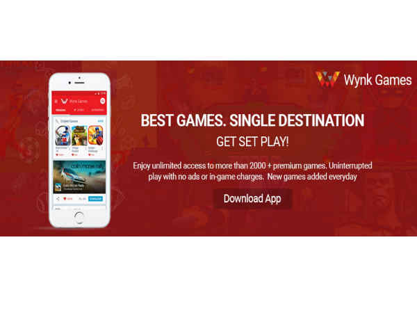 Airtel launches 'Wynk Games'  adding Games to its Content Portfolio