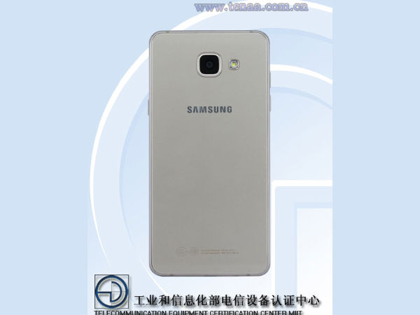 Samsung Galaxy A5 (2016) with 5.2 inch OLED display clears TENAA