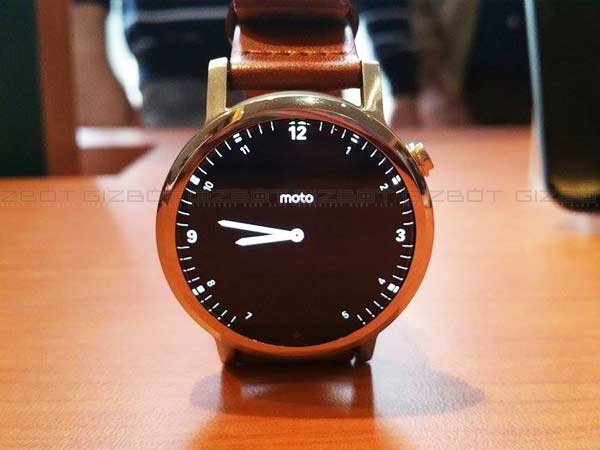 Motorola Launches Moto 360 (2nd Gen) Smartwatch in India