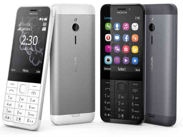Nokia 230 Dual SIM with 2MP Front camera with LED Flash launched
