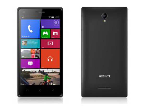 Zen Launches Cinemax 2 Smartphone with Quad-Core CPU, 1GB RAM
