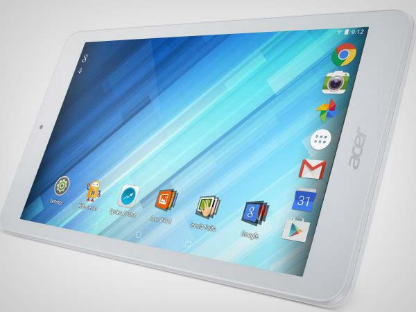 "Acer Iconia One 8 Tablet with 8"" HD display, Android 5.1 now official"