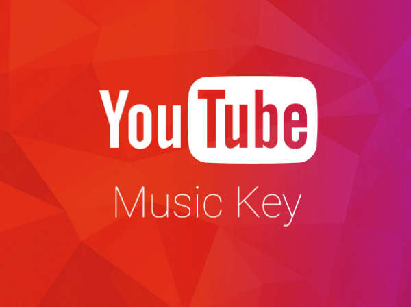 Subscribe to YouTube Music Key