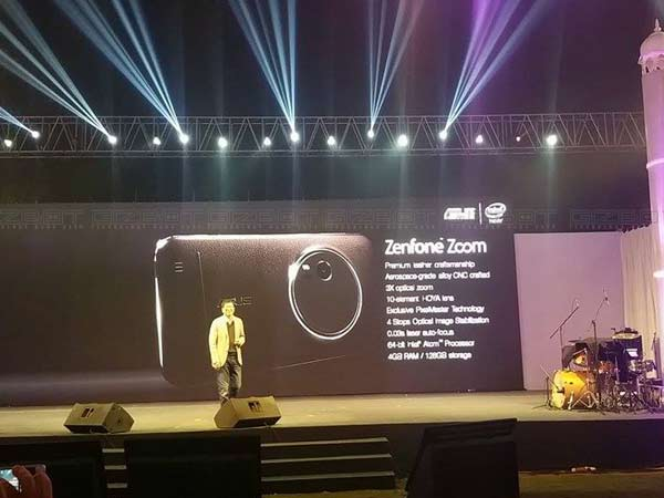 Asus Launches Zenfone Zoom With 3X optical zoom camera for Rs 37,999