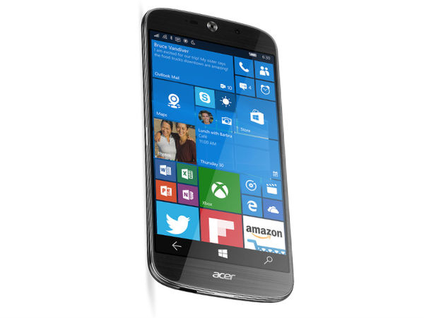Acer Liquid Jade Primo Flagship Windows 10 smartphone launched
